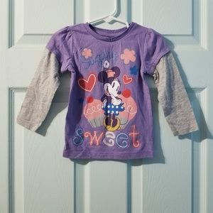 •baby gap minnie mouse tee 2T•